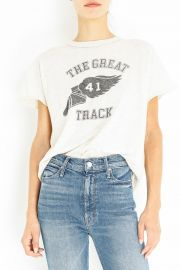 The Great 41 Track Tee by The Great at The Great