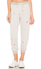 The Great The Cropped Sweatpant in Heather Grey from Revolve com at Revolve