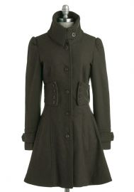 The Importance of Being Forest Coat at ModCloth