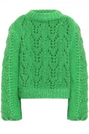 The Julliard open-knit mohair and wool-blend sweater at The Outnet