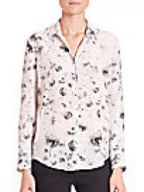 The Kooples - Dandelion-Print Silk Blouse at Saks Fifth Avenue