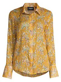 The Kooples - Floral Button-Down Blouse at Saks Fifth Avenue