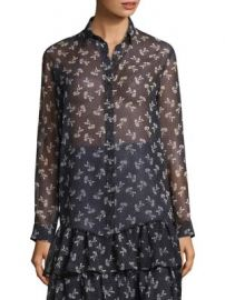 The Kooples - Floral Chiffon Shirt at Saks Fifth Avenue