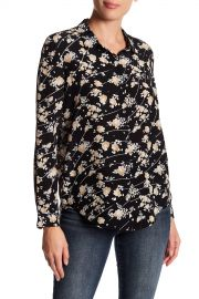 The Kooples   Flowers Dotted Line Blouse   Nordstrom Rack at Nordstrom Rack