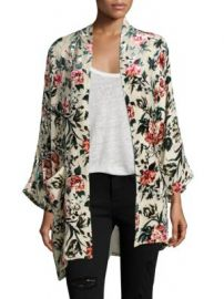 The Kooples - Kimono Tapestry Poncho at Saks Fifth Avenue