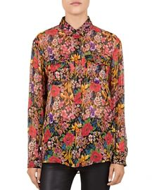 The Kooples Cocktail Flowers Shirt at Bloomingdales