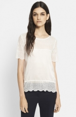 The Kooples Crocodile Embroidered Top at Nordstrom