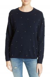 The Kooples Embellished Wool   Cashmere Sweater at Nordstrom
