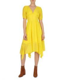 The Kooples Georgette Midi Dress  Women - Bloomingdale s at Bloomingdales
