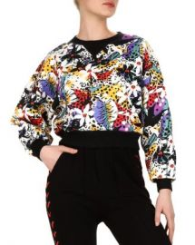 The Kooples Honolulu Floral-Print Sweatshirt Women - Bloomingdale s at Bloomingdales