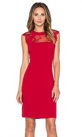 The Kooples Lace Dress in Red from Revolve com at Revolve