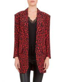 The Kooples Leo Skinny Printed Blazer Women - Bloomingdale s at Bloomingdales