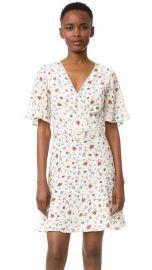 The Kooples Mixed Print Silk Dress at Shopbop