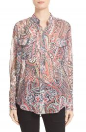 The Kooples Paisley Print Blouse at Nordstrom