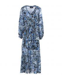The Kooples Printed Long Dress at Yoox