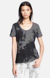 The Kooples Slubbed Cotton Jersey Tee at Nordstrom