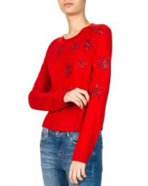 The Kooples Sparkling Star-Embroidered Sweater Women - Bloomingdale s at Bloomingdales