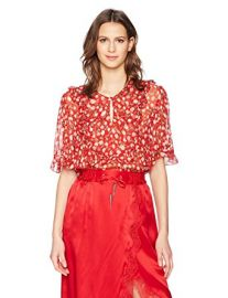 The Kooples Womens Rosa Blouse at Amazon