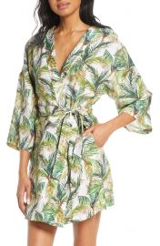 The Lazy Poet Lola Frond Print Robe at Nordstrom