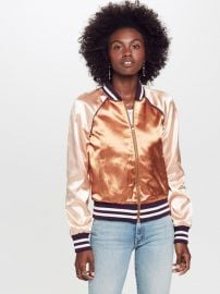 The Letterman Zip Jacket at Mother