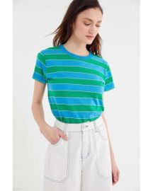 The Little Brother Striped Tee by Urban Outfitters at Urban Outfitters