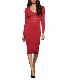 The Low Down Knit Dress by Good American at Bloomingdales