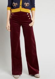The Madison Corduroy Wide Leg Pants at Modcloth