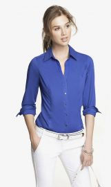 The Original Long Sleeve Essential Shirt at Express