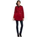 The PLL red trench coat at Amazon