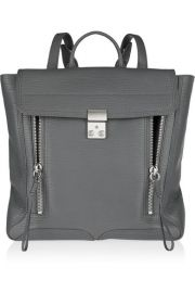 The Pashli textured-leather backpack by Phillip Lim at Net A Porter