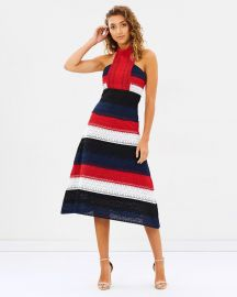 The Patriot Midi Dress by Mossman at The Iconic