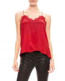 The Racer Lace Trim Cami by Cami NYC at Saks Fifth Avenue