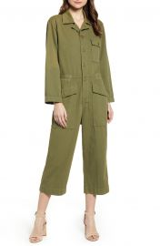 The Richland Cotton & Linen Jumpsuit at Nordstrom