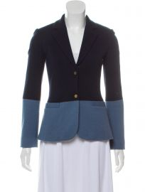 The Row Wool Colorblock Blazer at The Real Real