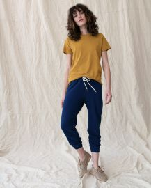 The Slim Tee in Butterscotch by The Great at The Great