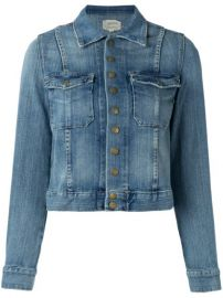 The Snap Denim Jacket at Current Elliott