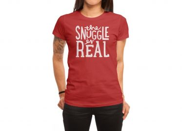 The Snuggle is Real Tee by Jack at Threadless at Threadless