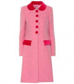 The Sunday Best wool coat at Mytheresa