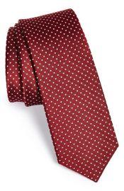 The Tie Bar Silk Pin Dot Tie at Nordstrom