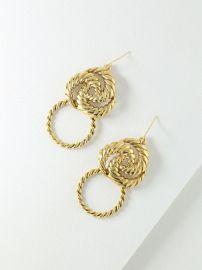 The Valetta Mini Earrings  at Vanessa Mooney