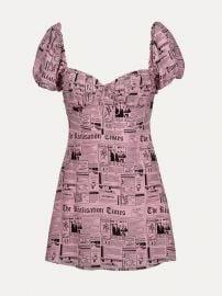 The Venus Newspaper Dress at Realisation