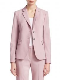 Theory - Carissa Wool Blazer at Saks Fifth Avenue