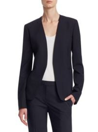 Theory - Isita Wool Blazer at Saks Fifth Avenue