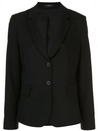 Theory Carissa structured shoulder blazer Carissa structured shoulder blazer at Farfetch