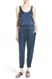 Theory Hekuba Silk Jumpsuit at Nordstrom