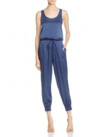 Theory Hekuba Silk Jumpsuit at Bloomingdales