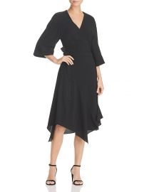 Theory Kimono Wrap Dress at Bloomingdales