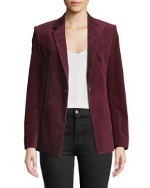 Theory Power One-Button Modern Corduroy Jacket at Bergdorf Goodman