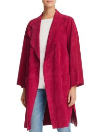 Theory Suede Kimono Coat Women - Bloomingdale s at Bloomingdales