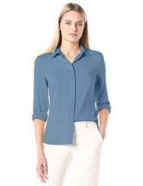 Theory Women s Classic Fitted Shirt at Amazon